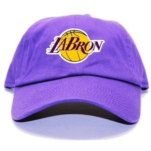 Other - LaBron Lebron James Los Angeles Purple Dad Hat